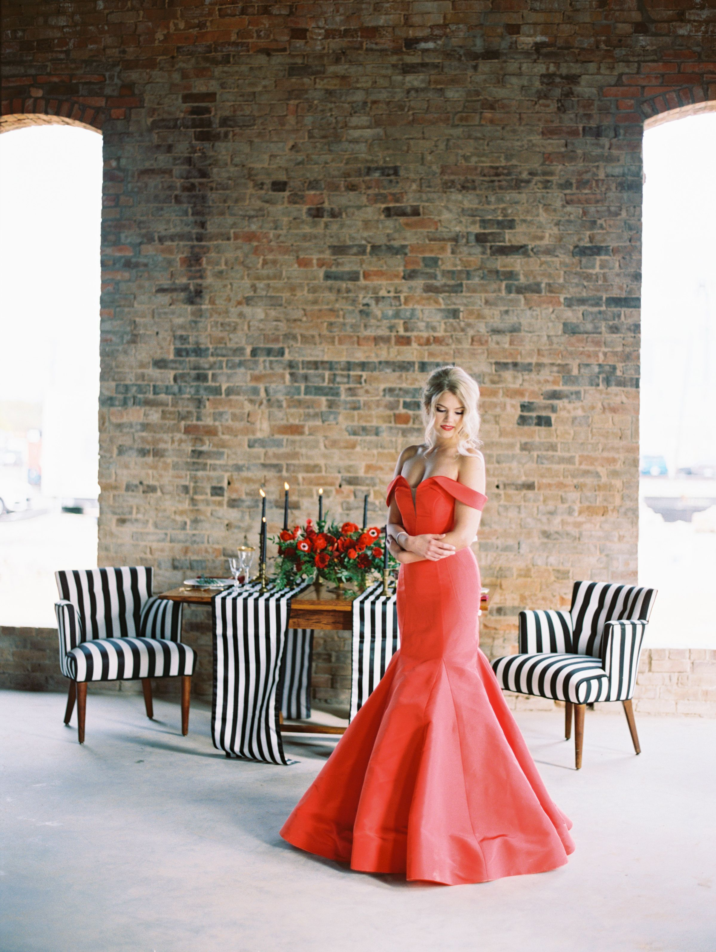 Industrial Holiday Inspired Shoot From Monroe Pearson In Denton