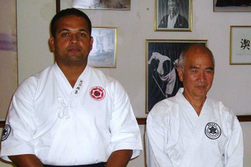 Aikijutsu conheça o professor Nilson Bispo representante do sistema no Brasil