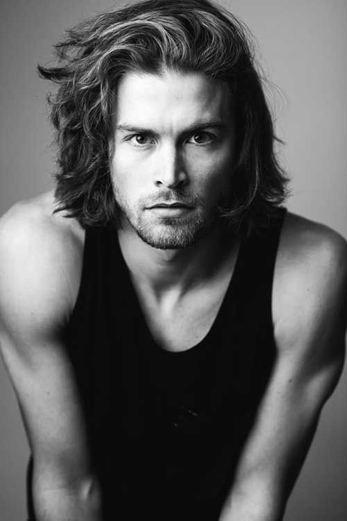 31 Mid Length Hairstyles For Men Http Www 99wtf Net Men Inspirations Stylish Mens Hair Long Hair Styles Men Medium Length Hair Styles Cool Hairstyles For Men
