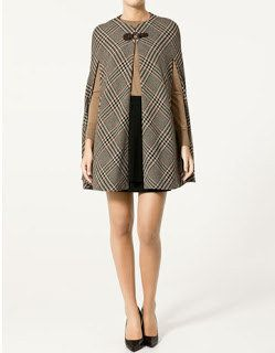 02840073ee17d Zara Plaid Cape - like Kate Middleton! | My Style | Fashion, Cape ...