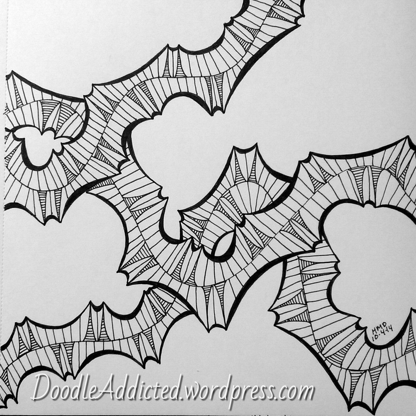 """""""Ivy Prehistoria"""" Doodle by Heidi Denney doodle art sharpie art zentangle zendoodle abstract drawing pen and ink"""