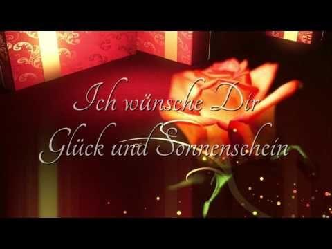 alles gute zum geburtstag lied deutsch text