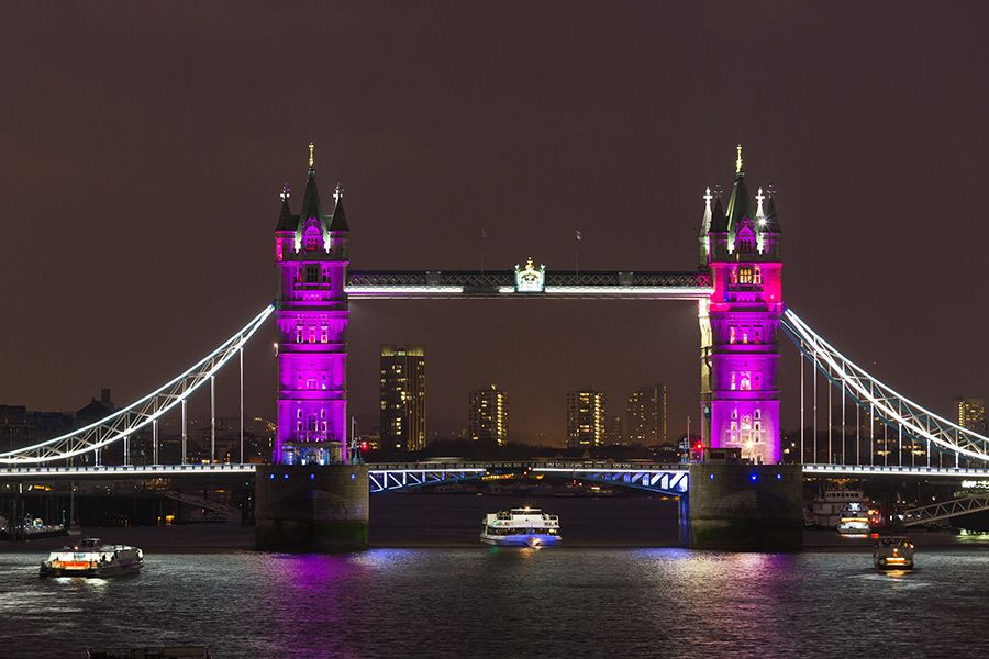 Prince William and Kate Middleton welcome baby girl: London turns pink in honour of the Princess - Photo 5 | Celebrity news in hellomagazine.com