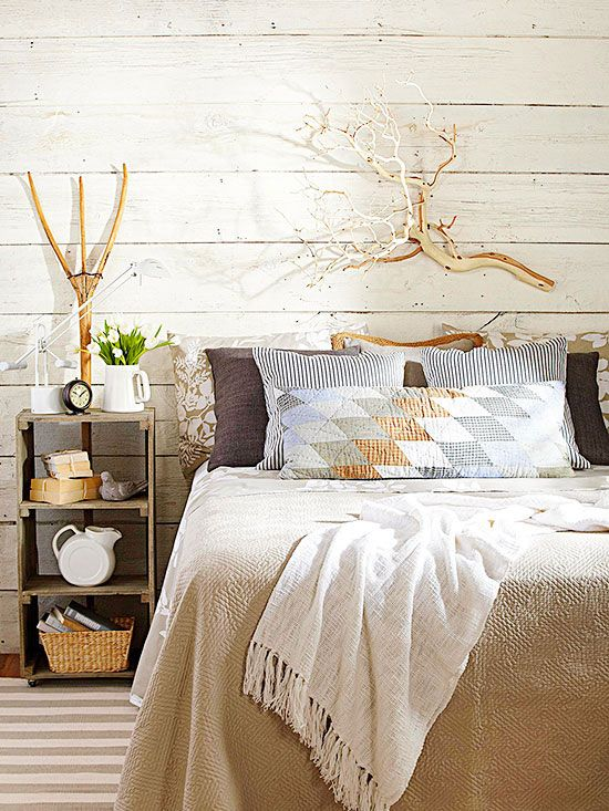 Decorating With Natural Elements Bring The Outdoors In With This Elegant Decorating Trend Beautiful Bedroom Designs Home Decor Decor