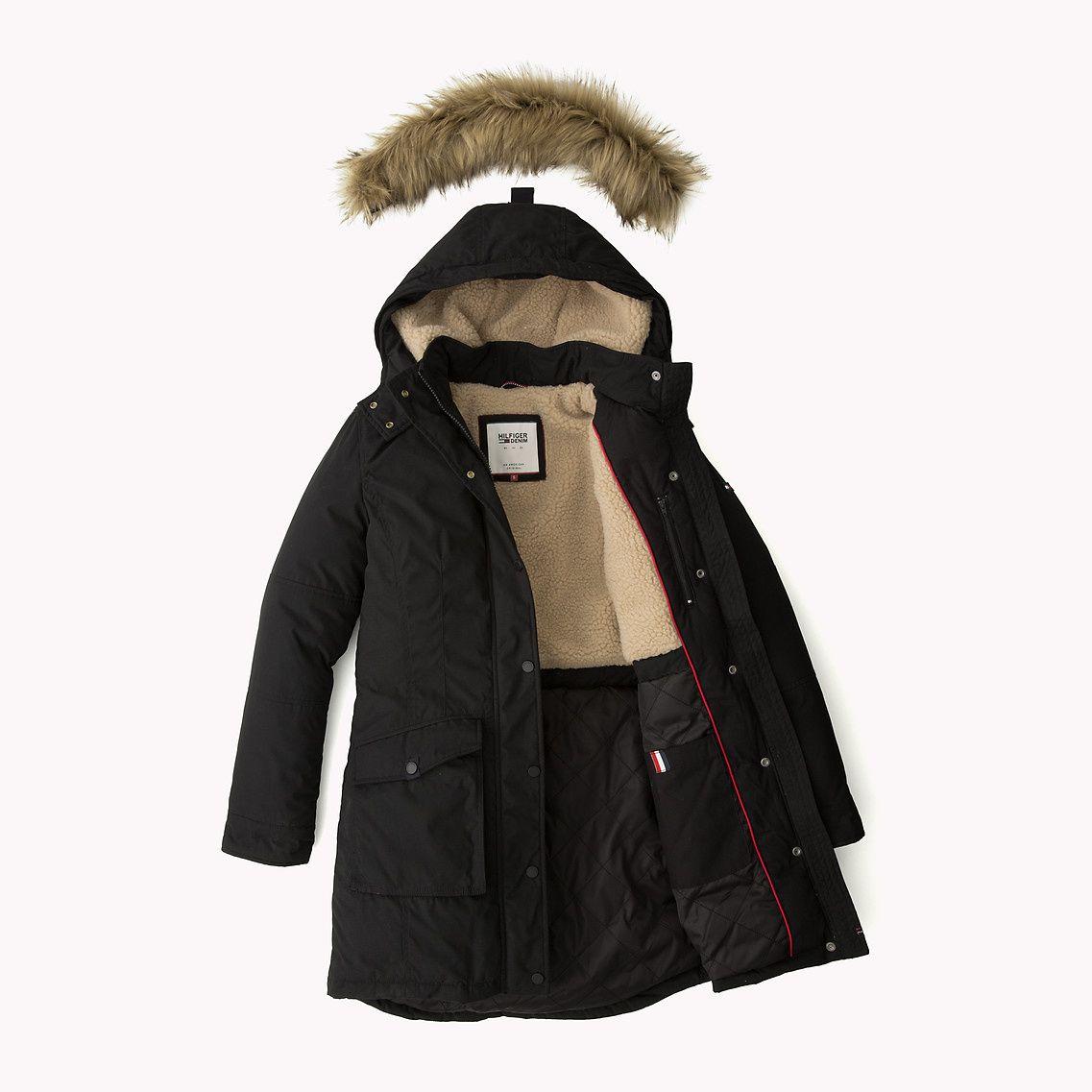 Shoppen Sie Daunenparka Und Erkunden Sie Die Tommy Hilfiger Parka Fur Damen Kostenlose Lieferung Retouren 8 Canada Goose Jackets Winter Jackets Winter Sale