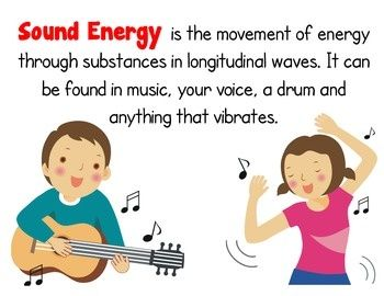 The sound energy song | Musical Science | Pinterest | Songs and ...