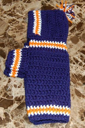 Crochet Pattern - Sports Team Dog Hoodie - Pre-Sale!!!! | Pinterest ...