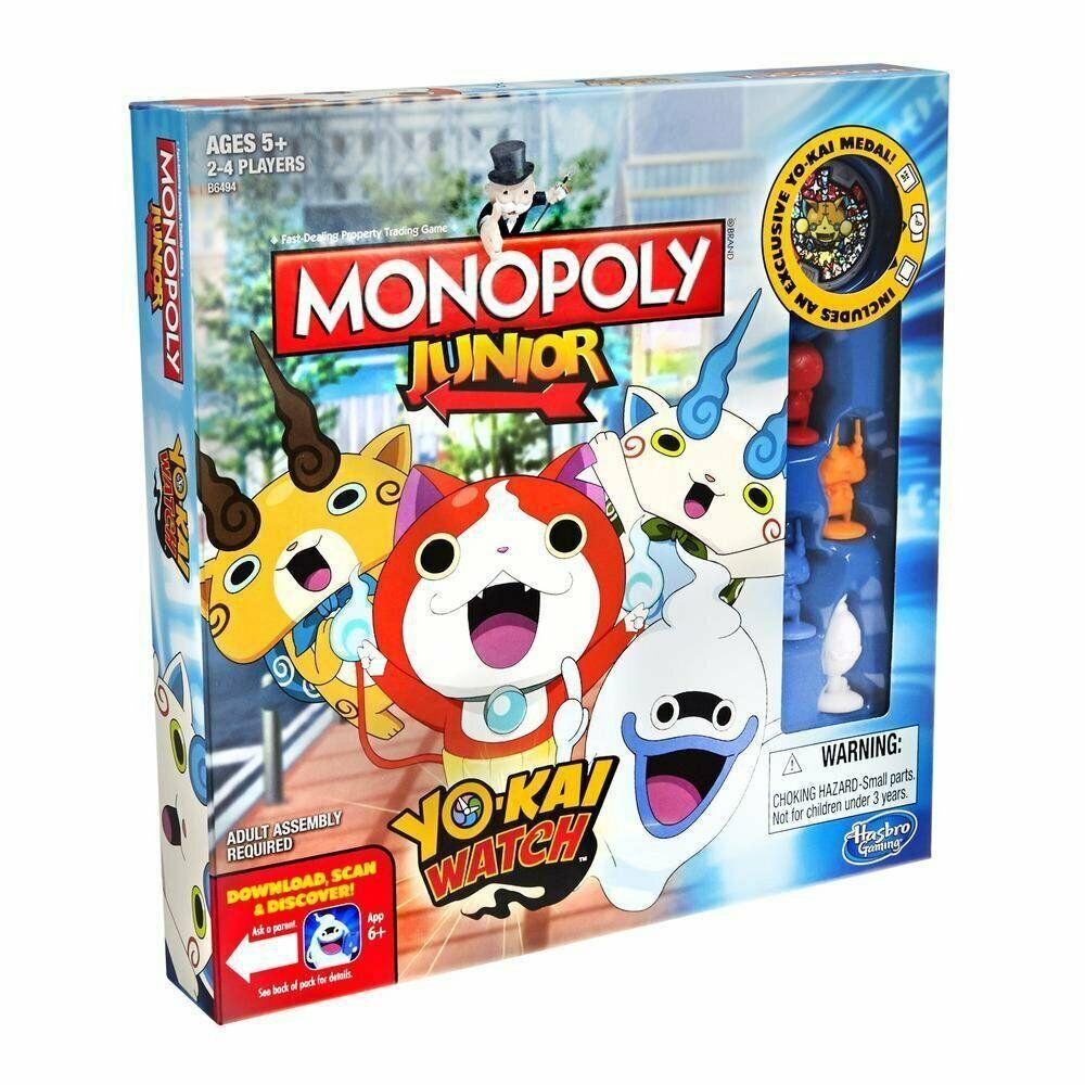 Hasbro Spiele B6494100 Yokai Watch Monopoly Junior