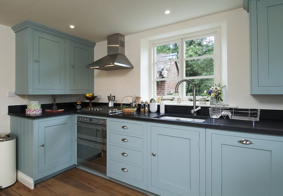 Edward Bulmer Natural Paint | Kitchen in Sea Green | paint ...