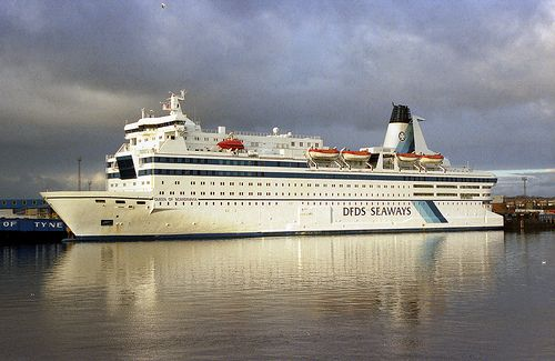 Dfds Seaways Queen Of Scandinavia North Shields North Shields Scandinavia Cruise Ship