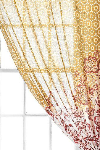 Magical Thinking Floral Cluster Curtain