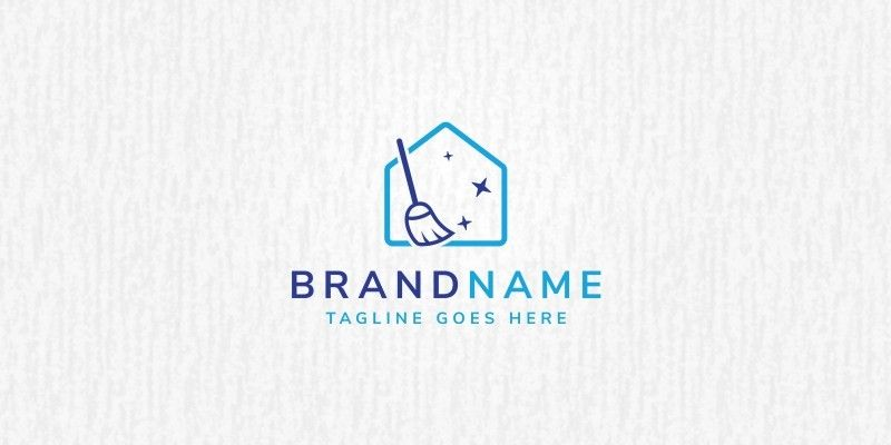 House Cleaning Logo Template By Cmonica Cleaning Company Logo Cleaning Logo Cleaning Company Logo Ideas