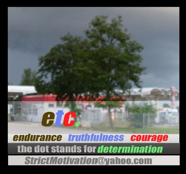 """#RiseAndShinelet """"etc.""""become your mantra for growth through breaking points: Endurance, Truthfulness, Courage & the dot = Determination #StrictMotivation  Strict Motivatio…"""