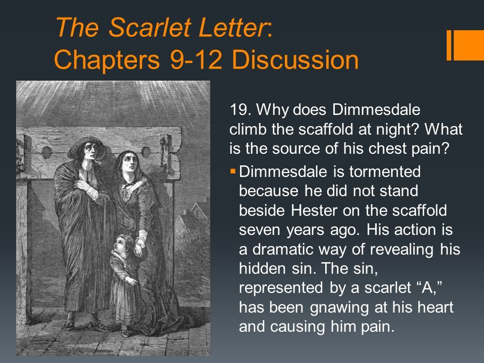 new the scarlet letter chapter 9 summary how to format a