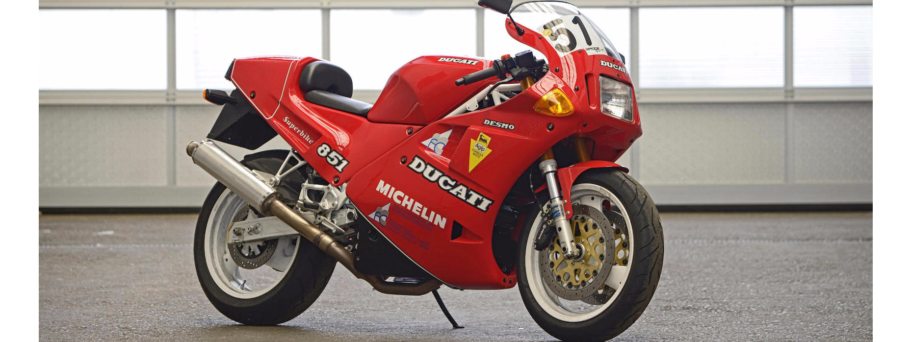 C.1990 DUCATI 851 SP2 Frame no. ZDM888S*000277* Engine no ...