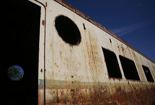 Derelict train, Mendoza, Argentina.