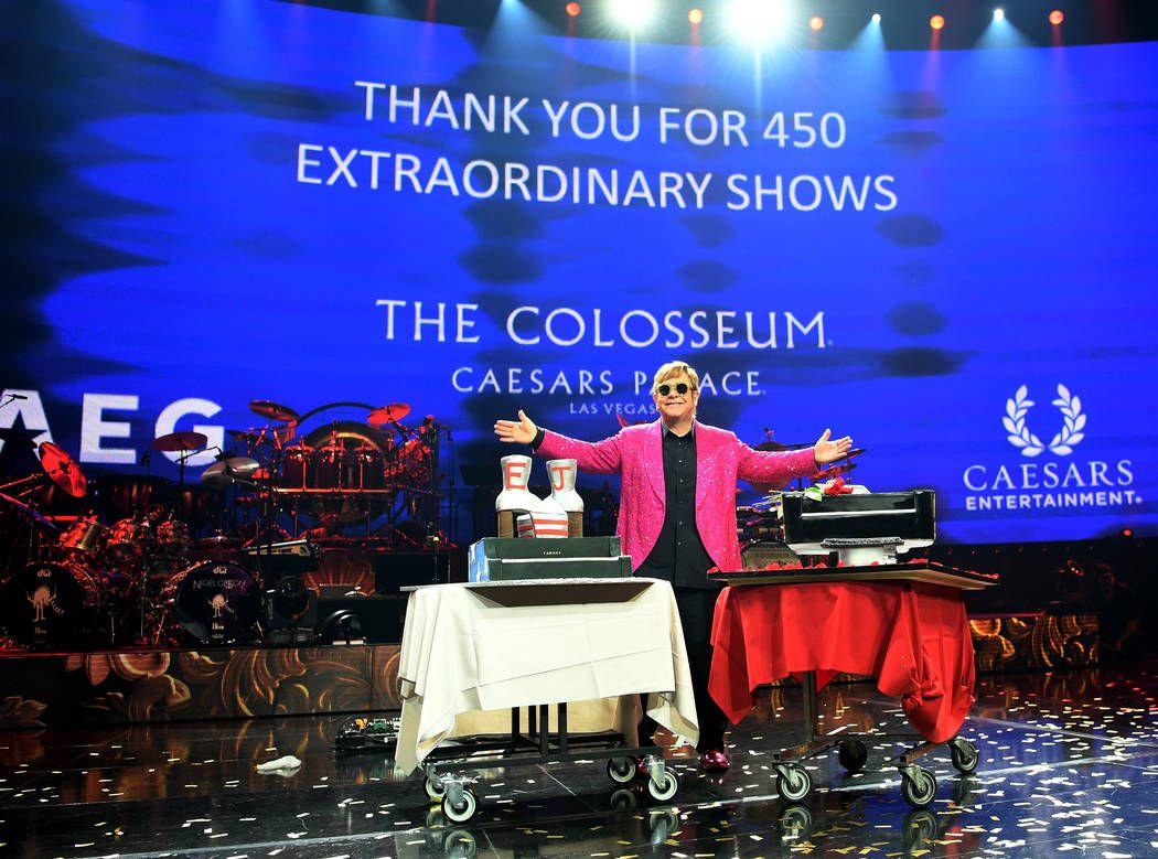 Elton John ends 14year run with flourish, on to royal
