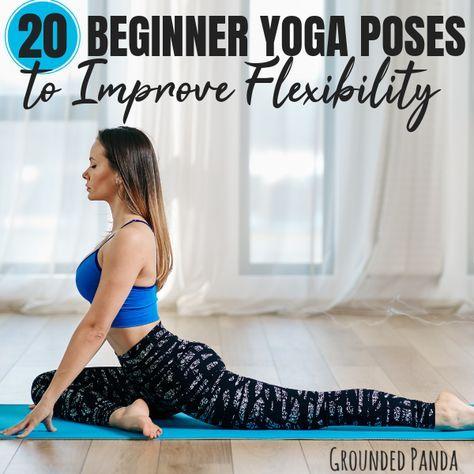 20 beginner yoga poses for flexibility  free printable