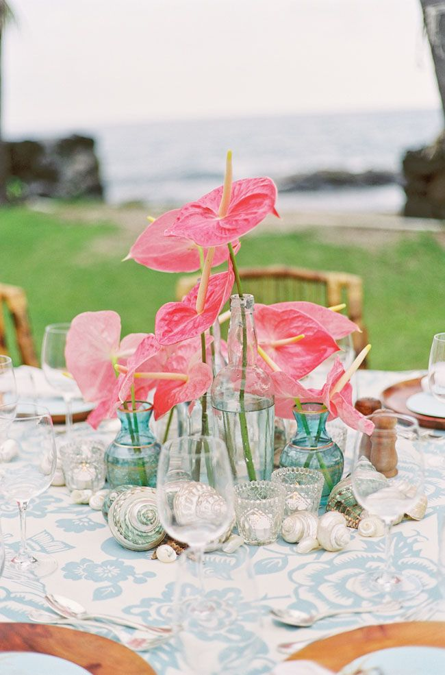 Hawaiian Wedding Inspiration This Site Also Has A Beautiful All White I Need To Pin