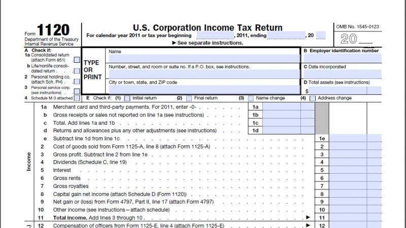 Dcarsoncpa Corporate Tax Services On Form   S