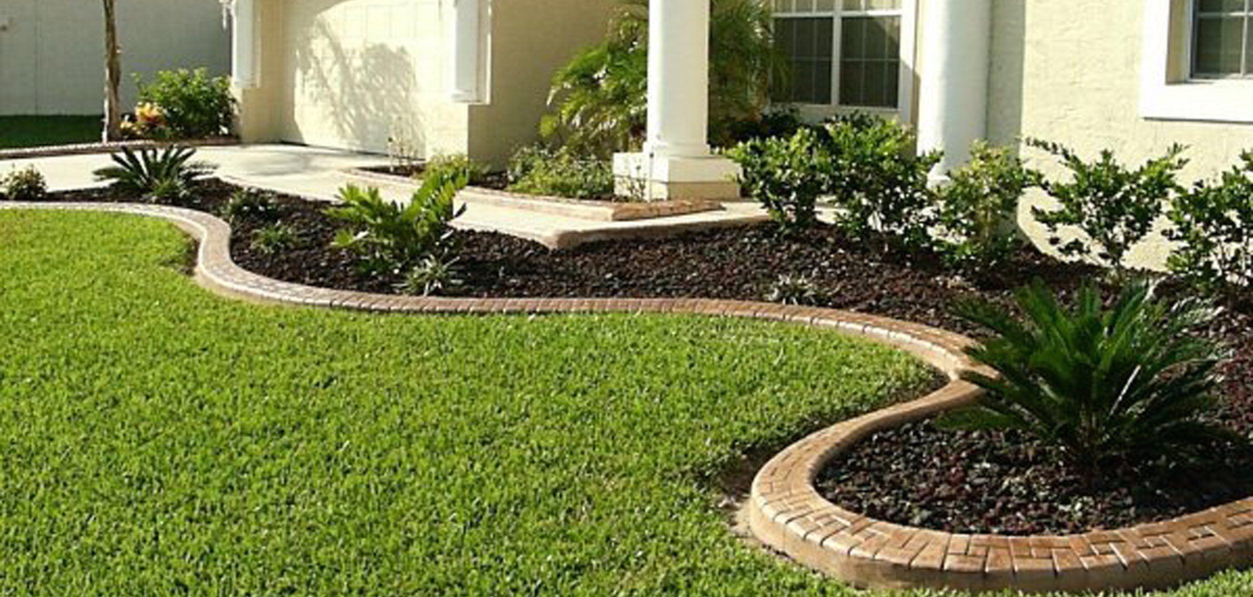 Pertamanan Halaman Depan Desain Lanskap Desain Halaman Depan Landscaping ideas for house front