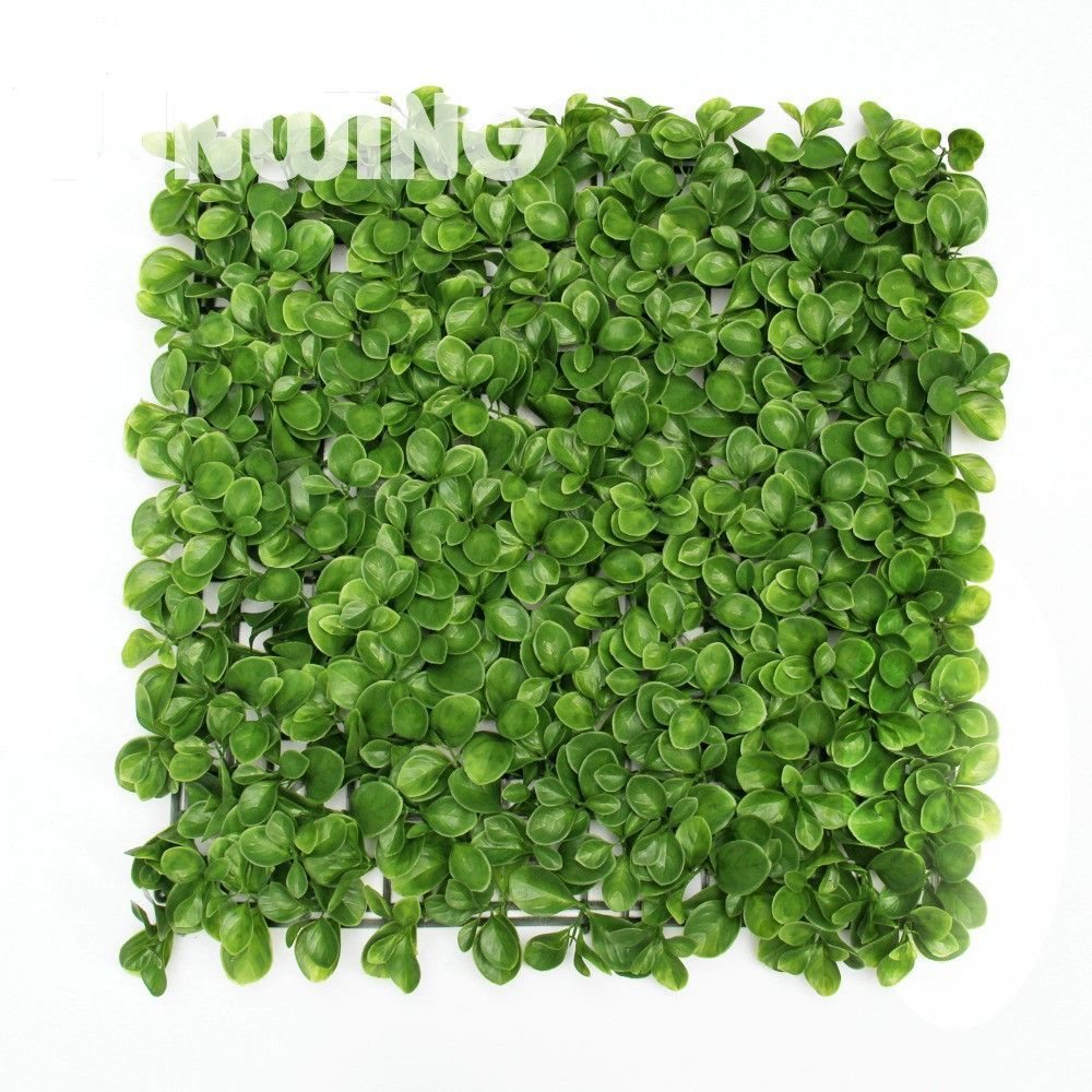 Buy 1 Sqm Decorative Garden Leave Fence Mats Artificial Buxus Hedge ...
