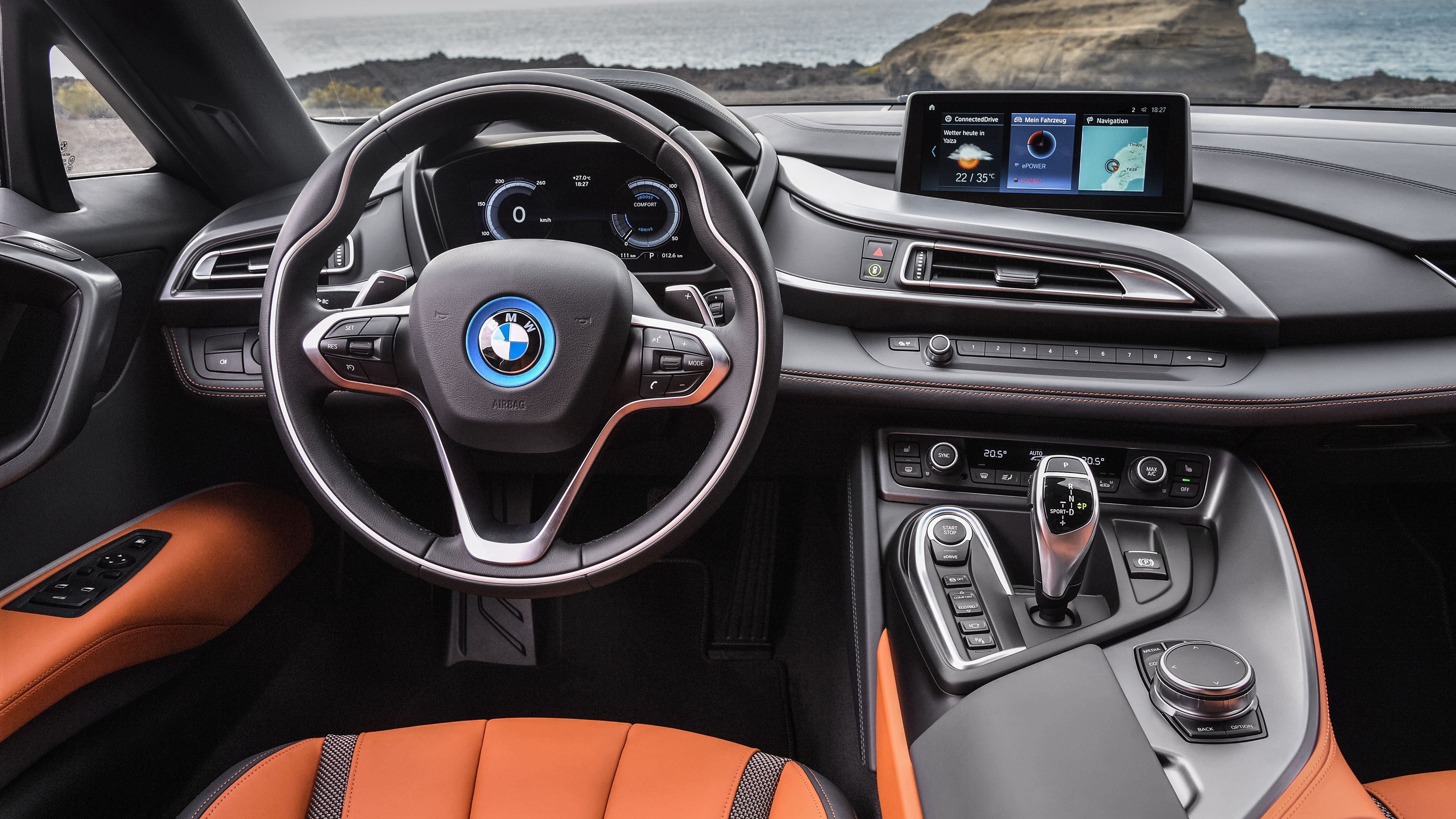 2018 Bmw I8 Roadster Interior Interior Wallpapers Hd Wallpapers Cars Wallpapers Bmw Wallpapers Bmw I8 Wallpapers 4k Wal Bmw I8 Bmw Wallpapers Bmw Interior