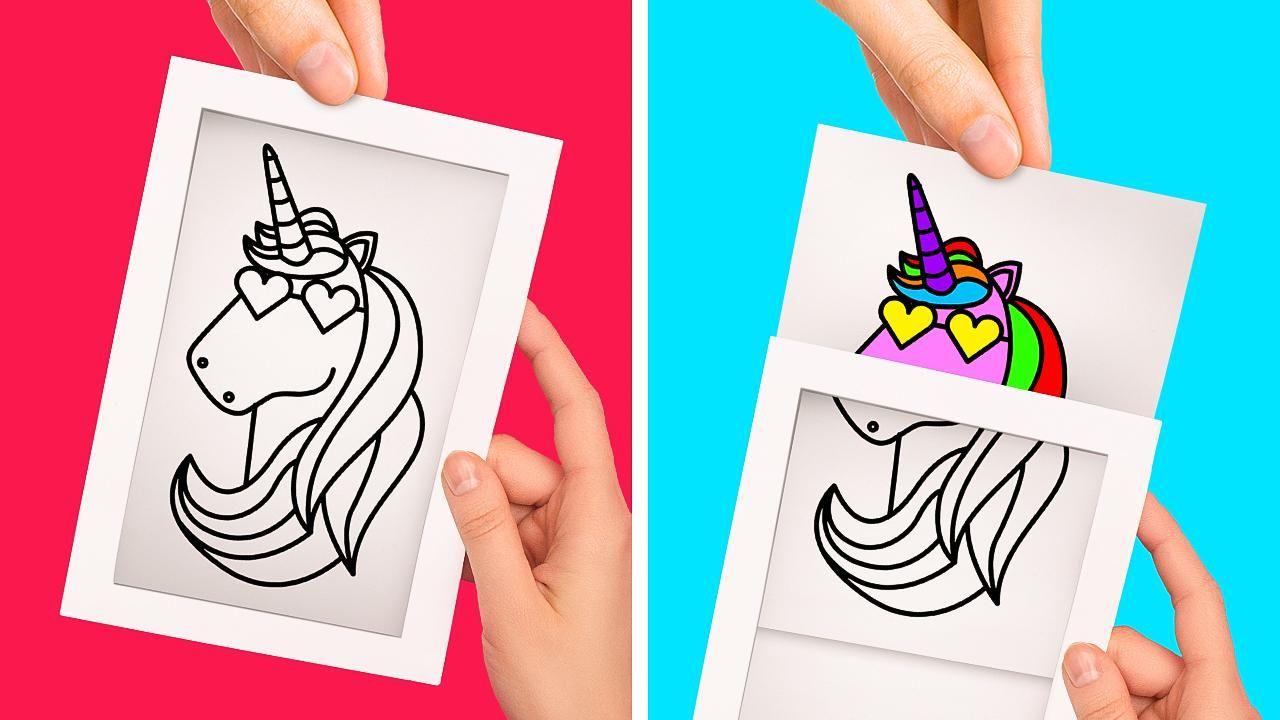 25 Idees Geniales Avec Du Papier Video In 2020 Paper Crafts Diy Kids Paper Crafts Diy Tutorials Paper Crafts Diy