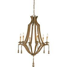 Currey And Company 9256 Wood Chandelier Chandelier Ceiling