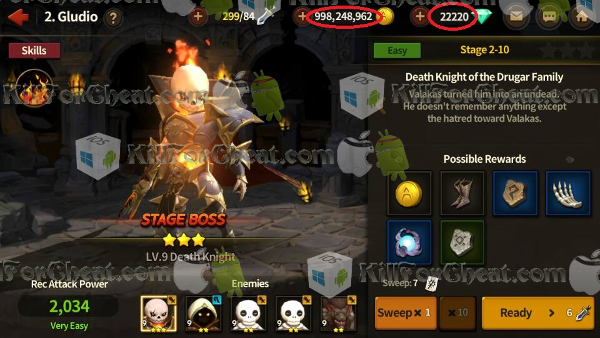 Lineage Red Knights Hack APK, Lineage Red Knights H… | http