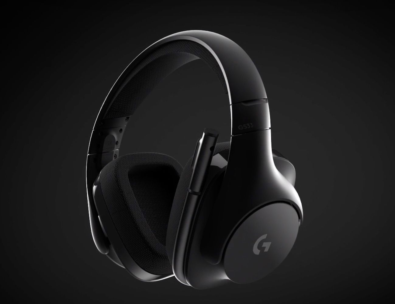 Logitech G533 Wireless Gaming Headset Dts 7 1 Surround Sound Pro G Audio Drivers Wireless Gaming Headset Best Gaming Headset Headset