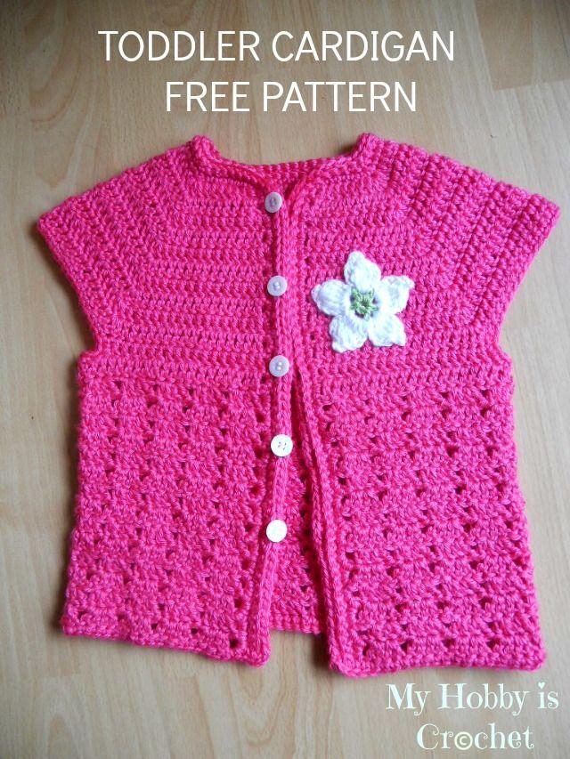 Toddler Short Sleeved Cardigan Pinterest Yarns Box And Crochet