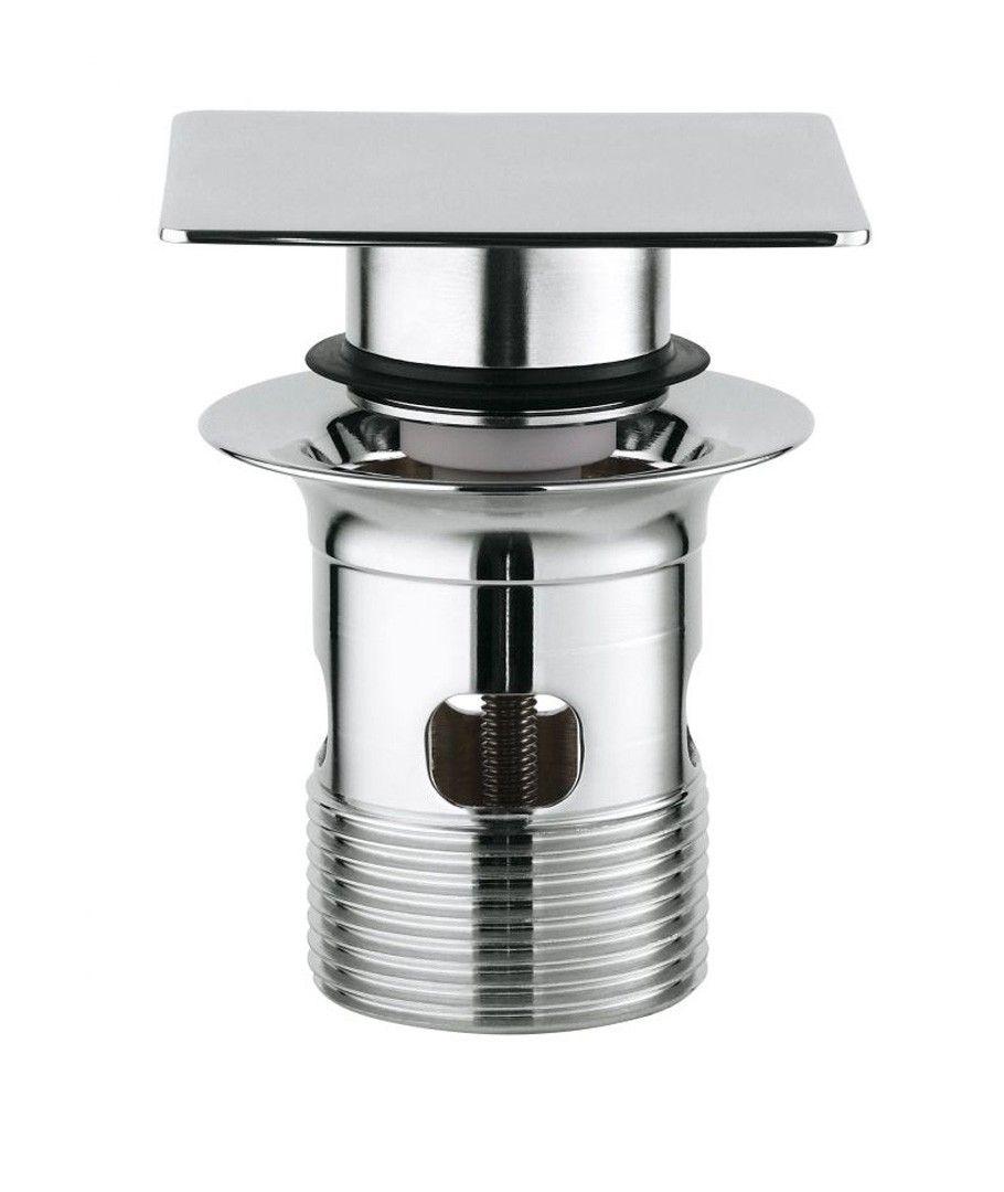 V lvula de desag e 1 1 4 grohe para lavabos push up for Valvula desague lavabo