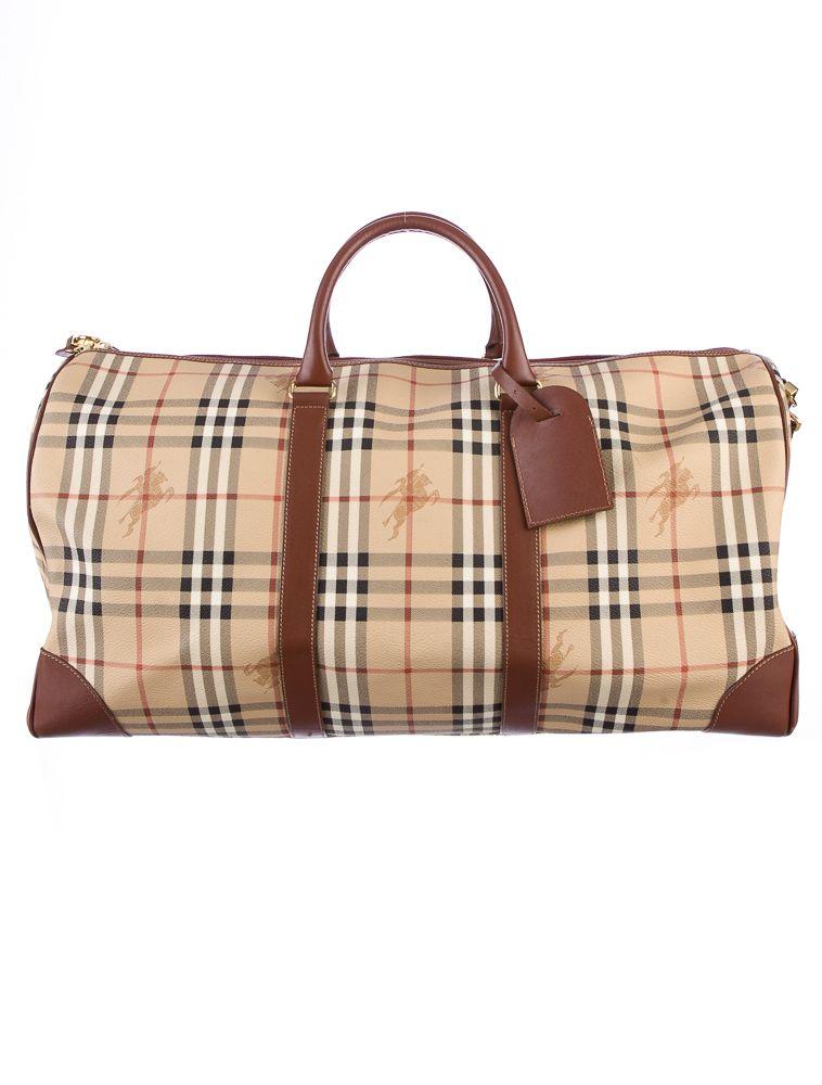 9ea535eaca71 Burberry weekender bag
