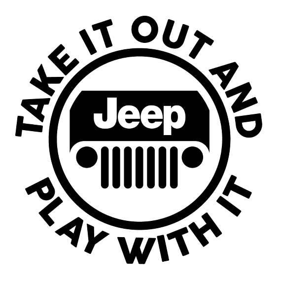 Take It Out And Play With It Jeep Stickers