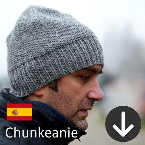 Free Chunkeanie Slouchy Hat Knitting Pattern In Spanish Knitting