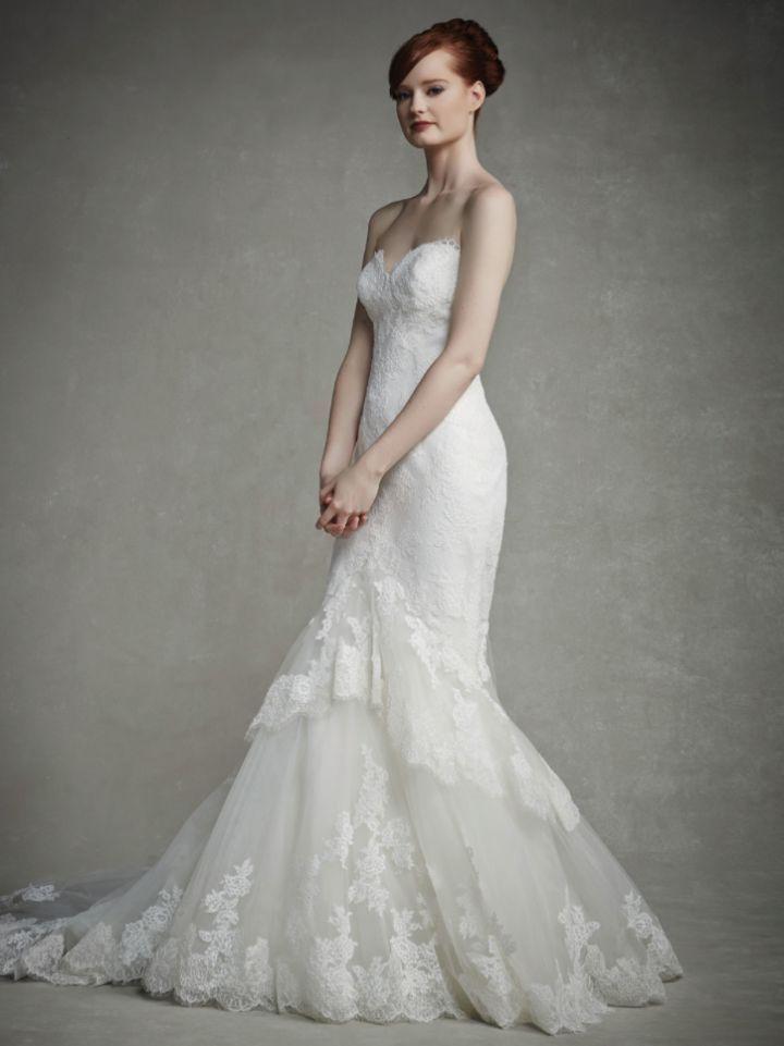 Sheath Wedding Dress : Picture Description Enzoani Wedding Dresses ...