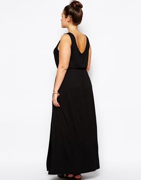 Enlarge New Look Inspire Jersey Maxi Dress
