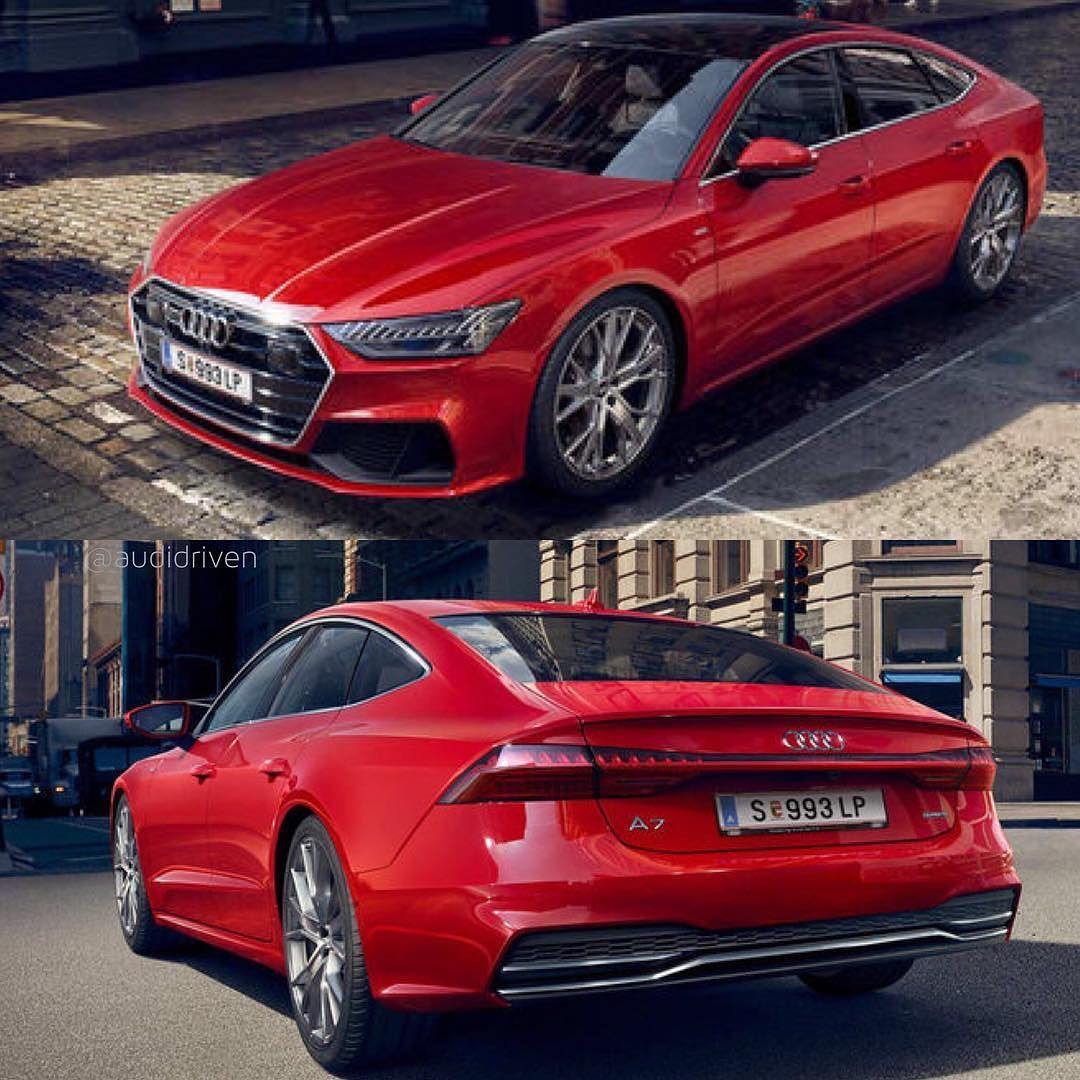 Red Luxury Cars: #newA7 In Red Or Blue (next Pic) Edit @audidriven / Pics
