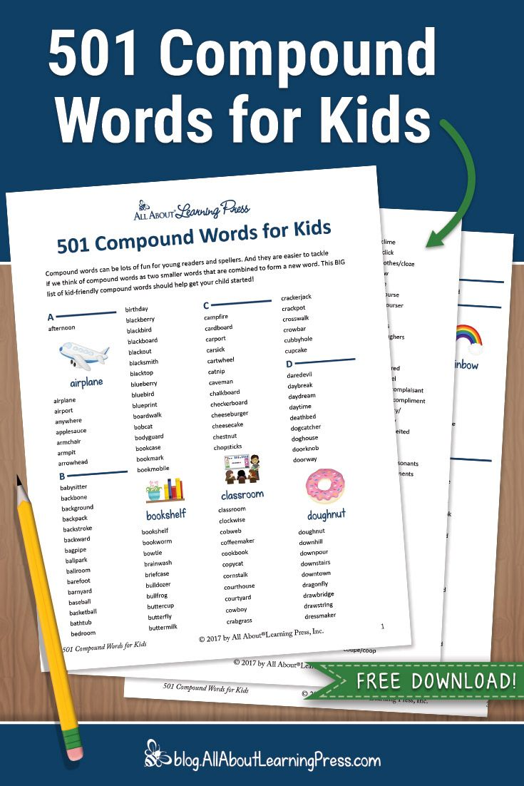 Teaching Compound Words The Essential Guide Free Downloads Compound Words Compound Words Activities Words [ 1102 x 735 Pixel ]
