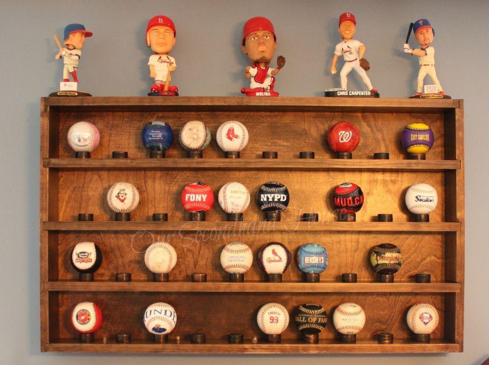 DIY Baseball Collection Display