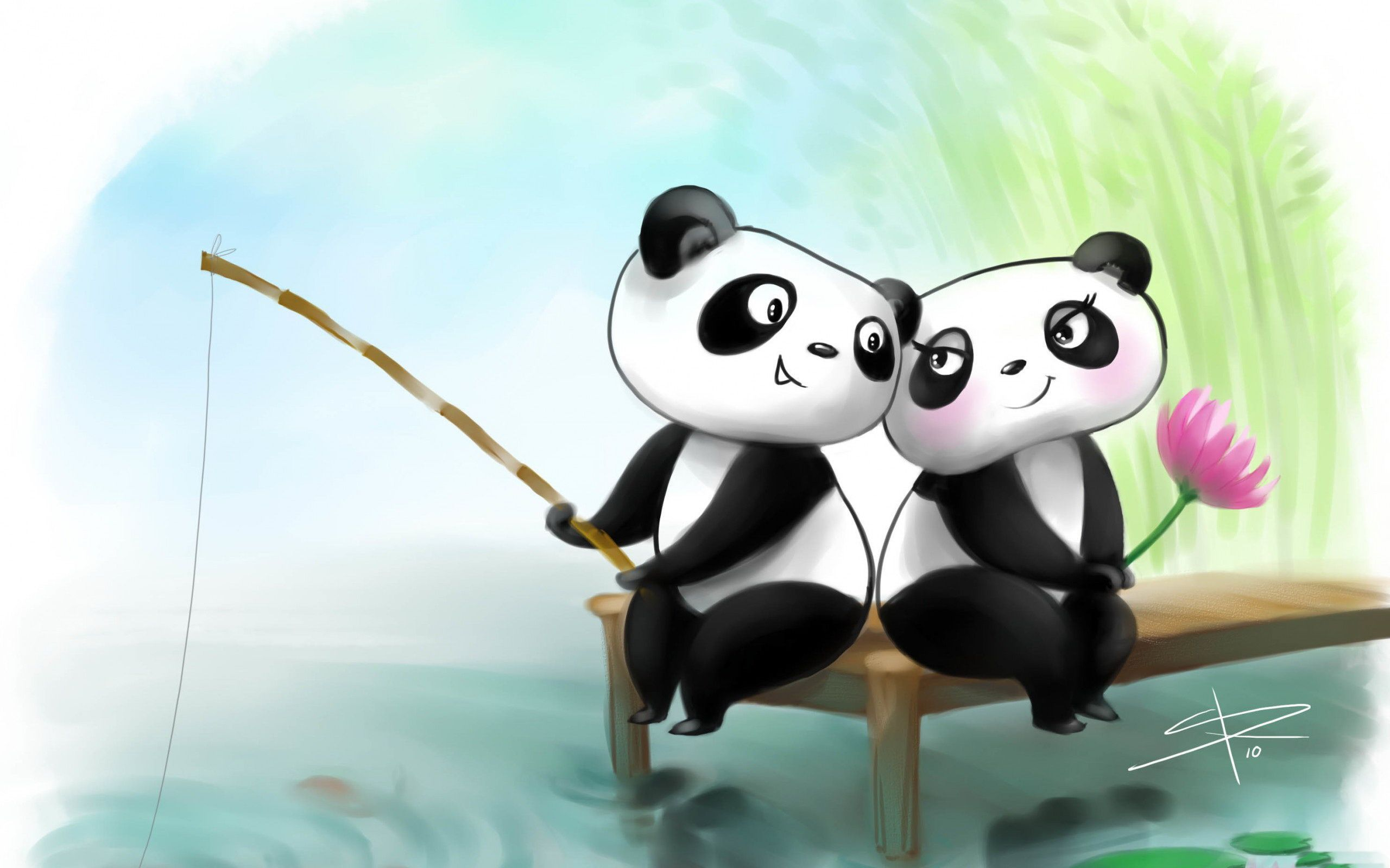 Cute Cartoon Couple Wallpapers Wallpaper Cave Panda Wallpapers Cute Couple Wallpaper Cute Laptop Wallpaper