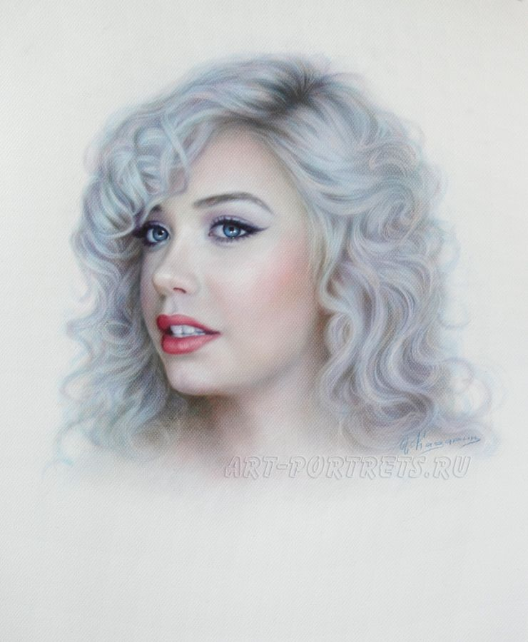 Portrait Drawing of a beautiful girl Amanda Steele by Drawing-Portraits on DeviantArt
