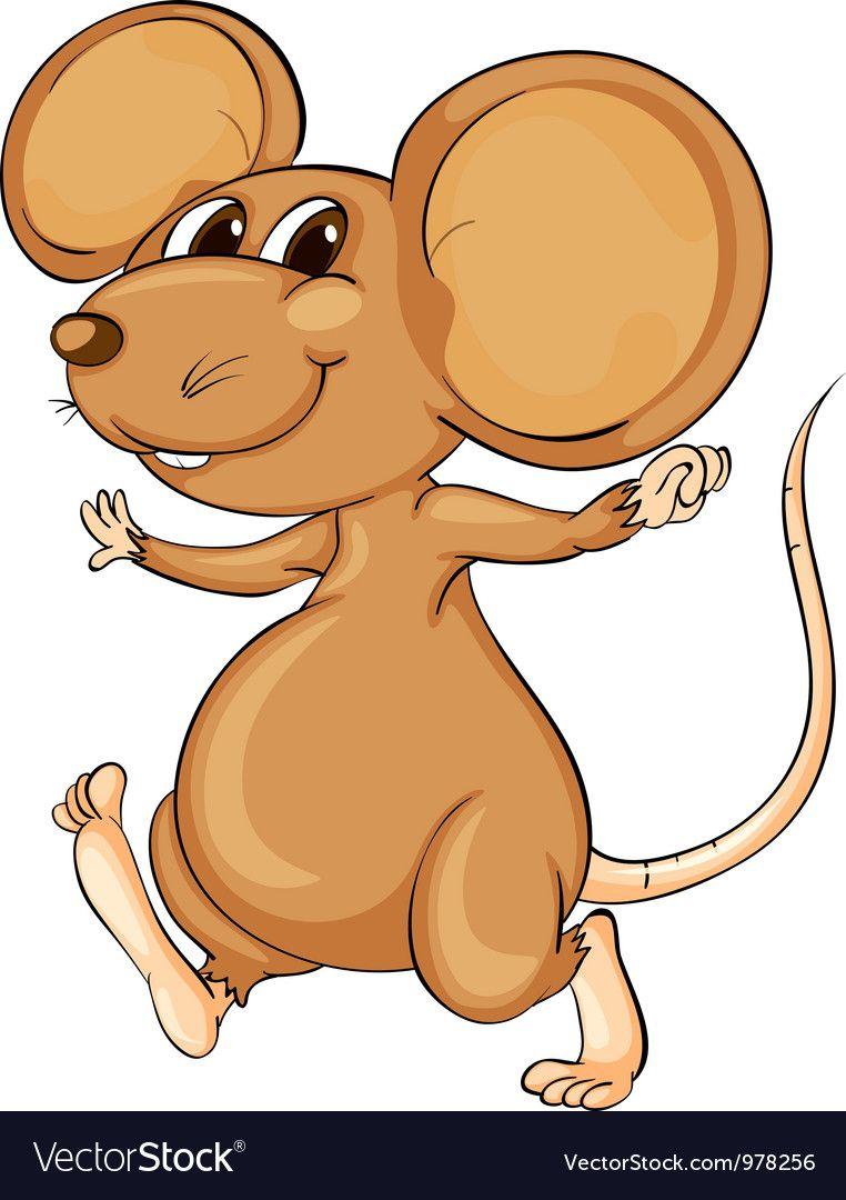 Cute Mouse Vector Image On Cute Mouse Animal Clipart Cute Cartoon