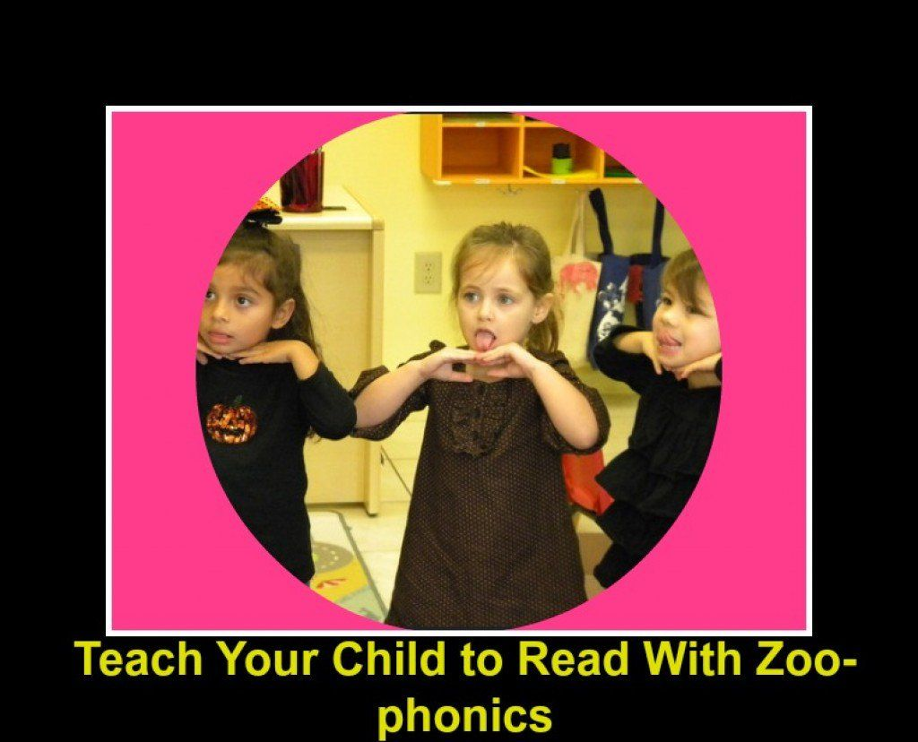 Teach Your Child To Read With Zoo Phonics And Have Fun