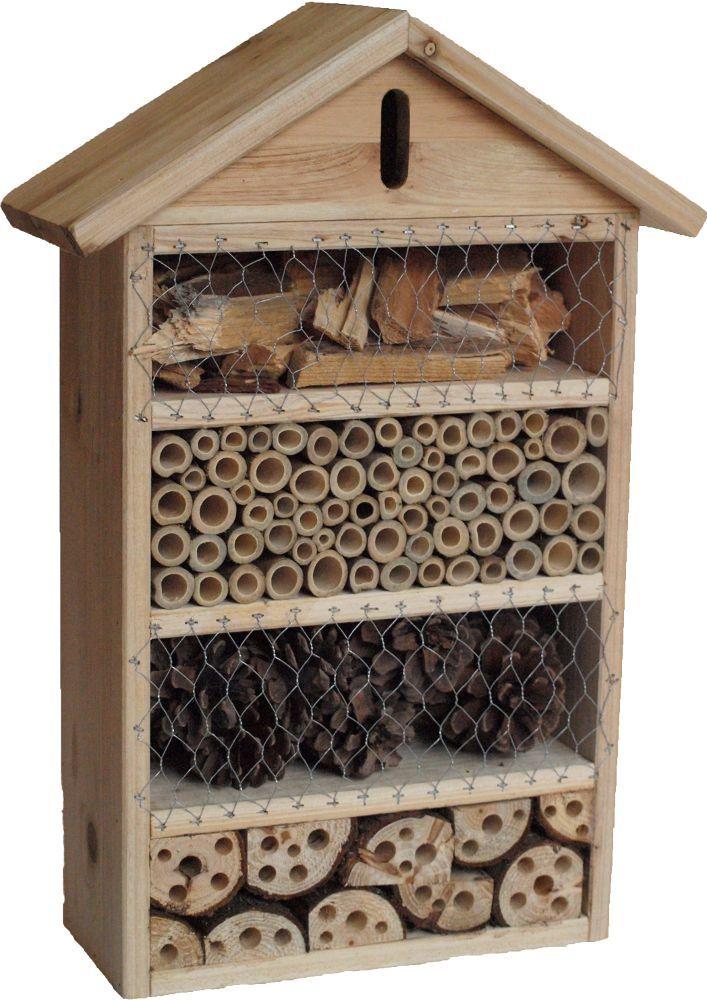 Incontournable pour votre jardin l 39 h tel pour insectes - La lutte biologique au jardin ...