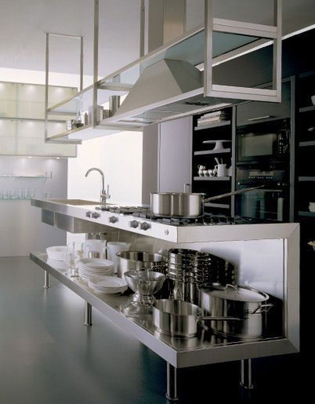 46 Modern Restaurant Kitchen Design Ideas Kitchen Restaurant
