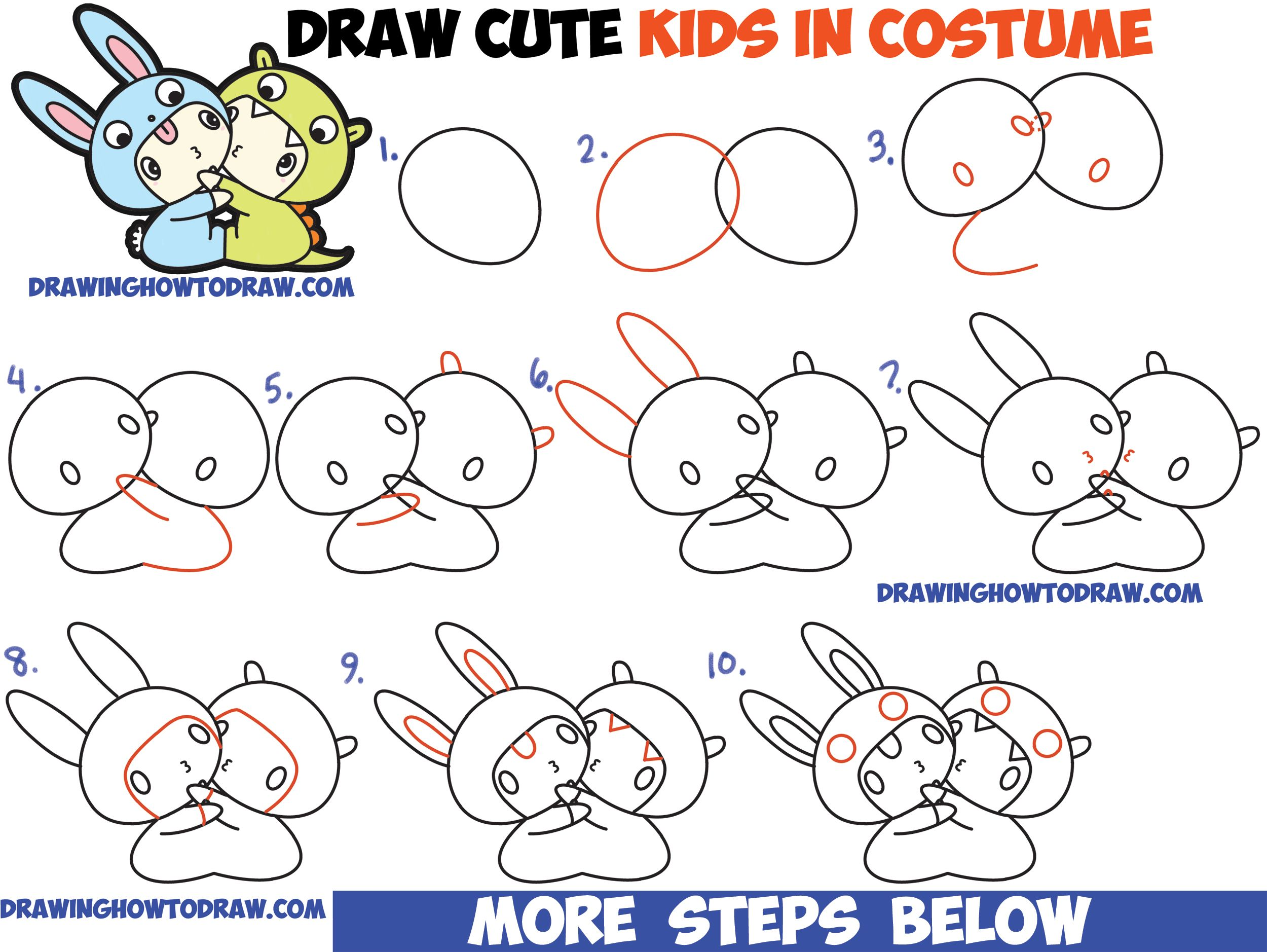 how to draw chibi characters for beginners