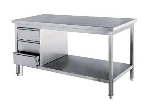 Commercial Kitchen Stainless Steel Tables Freestanding Commercial Stainless Steel Kit Stainless Steel Kitchen Island Kitchen Cabinet Layout Kitchen Work Tables
