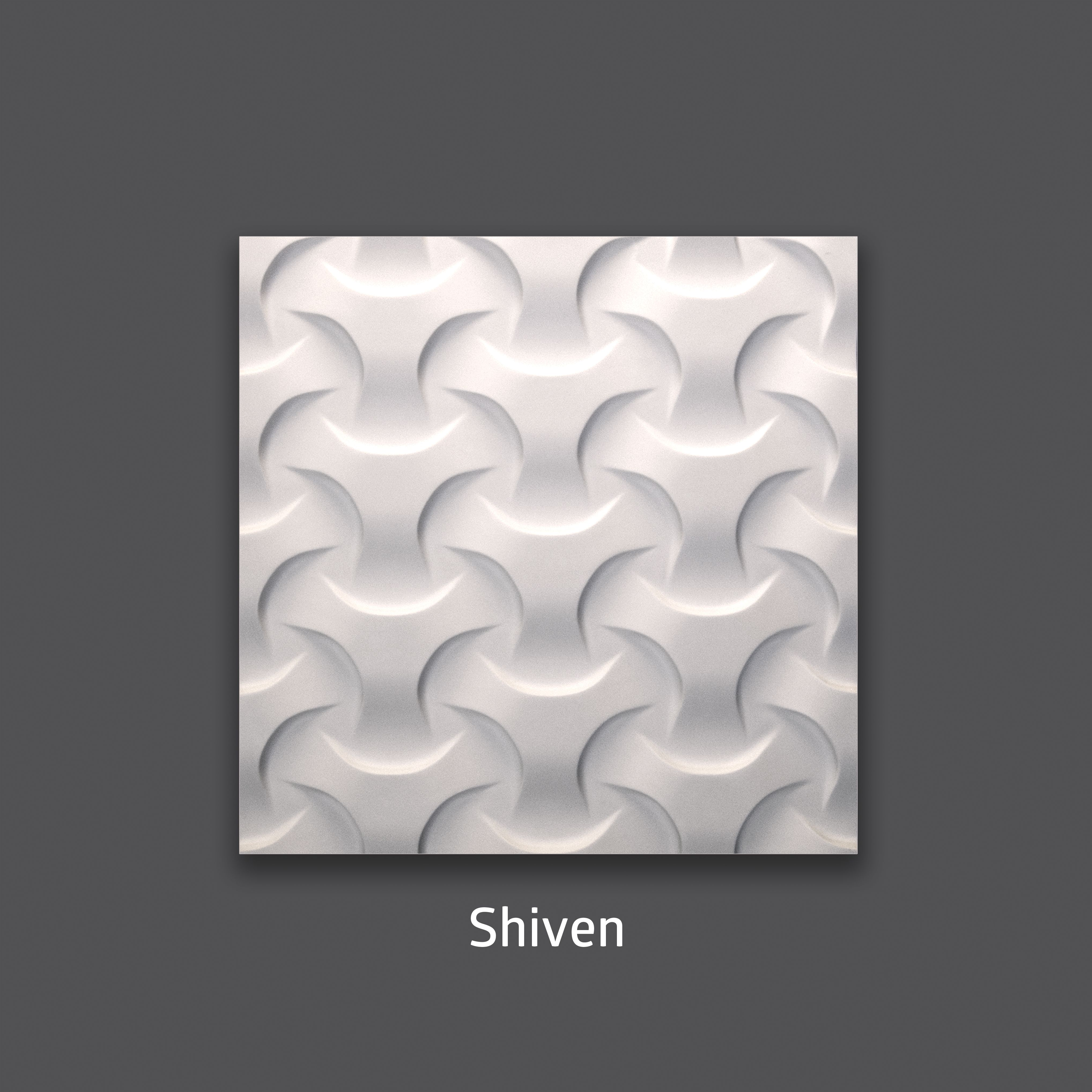 Shiven 3D Gypsum Decorative Wall Tile. Available in 16x16 and 32x32.  interior design ...